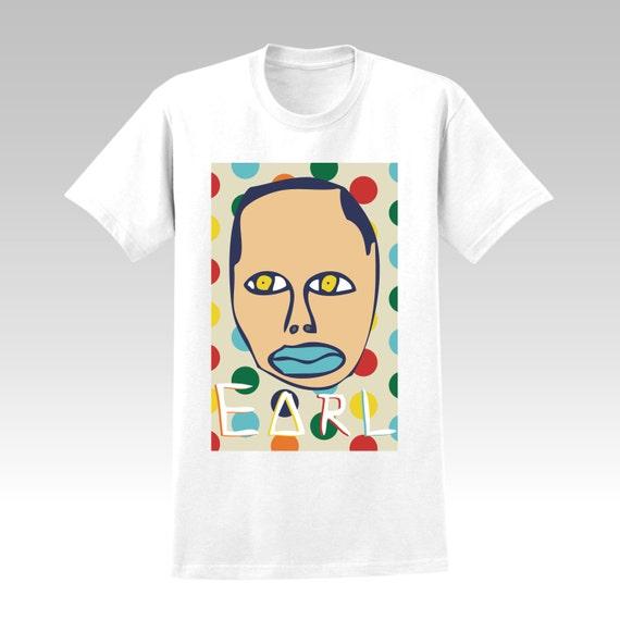 Earl Sweatshirt T-SHIRT Golf Wang, Odd Future, Frank Ocean, Tyler The Creator, dots Print Theme