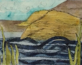 Landscapes prints from original paintings and collagraphs