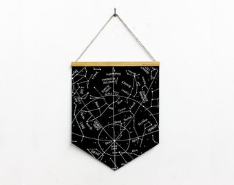 "banner ""constellations"" / bannière ""constellations"""