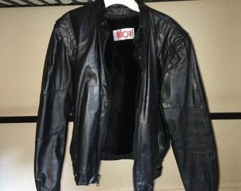 Vintage Leather Jacket, EU 36 US 4