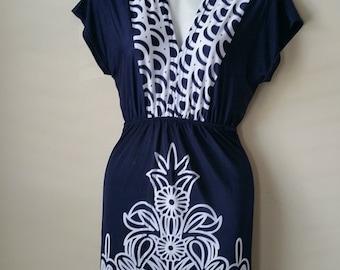 Short summer dress, casual dress, tunic dress