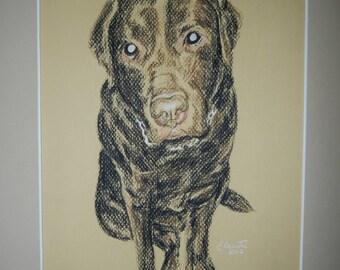 Custom Charcoal Portraits