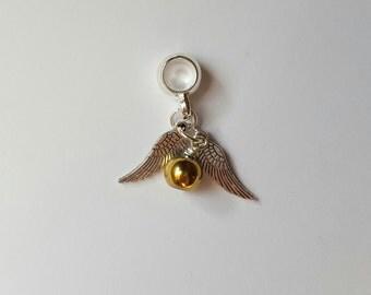 Golden Snitch Bracelet Charm
