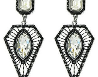 Art Deco Drop Earrings EA6037i