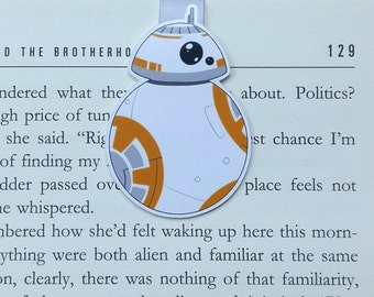 Droid - Magnetic bookmark|| sw lover gifts | boyfriend gift | bookmark | bookish | bookmarks | star wars | magnetic bookmarks | bb8