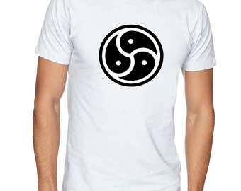BDSM Symbol t-shirt, Kinky t-shirt, Fetish t shirt. Mens t-shirt, gift for men. Kinky tee, fetish tee, apparel clothing by FET.tees.