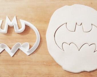 batman cookie cutter dc comics kawaii birthday cake emporte pièce 3d print cute mignon geek