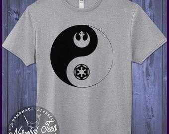 Empire Rebellion Yin Yang T-Shirt