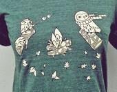 Woodsy Owl - Unique T Shirt - Friend Gift Ideas - Gift Ideas for Friends - Friend Gifts