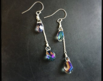 Rainfall earrings