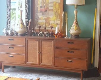 Mid Century Modern Credenza Storage Dresser