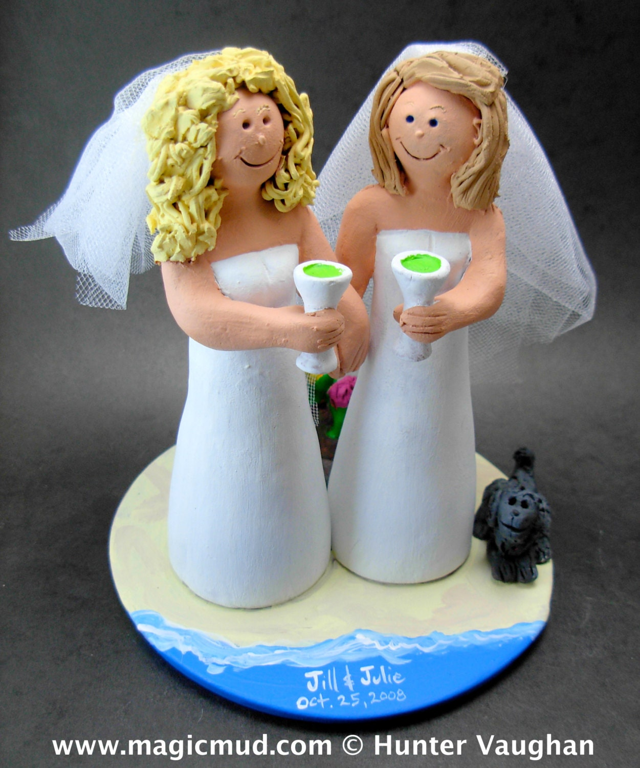 sex wedding cake toppers brides marraige on wedding cake topper 19762