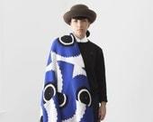 ALL NEW! Yokoo 50x50 Recycled Cotton Blanket  'Ezekiel's Wheel'