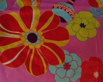 beautiful fiesta fabric destash