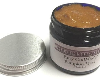 Fairy GodModel 5 Minute Pumpkin Mask Peel Enzymes Glycolic Acid Masque AHA Alpha Exfoliate Exfoliation