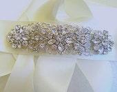 Crystal belt wedding sash bridal dress sash rhinestone belt silver accessories bridal rhinestone ribbon wedding dress belt