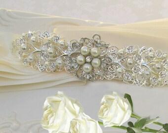 Sale Bridal headband wedding hair Accessory bridal headpiece wedding headband rhinestone headband wedding head piece bridal hair piece