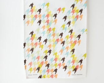Houndstooth Tea Towel