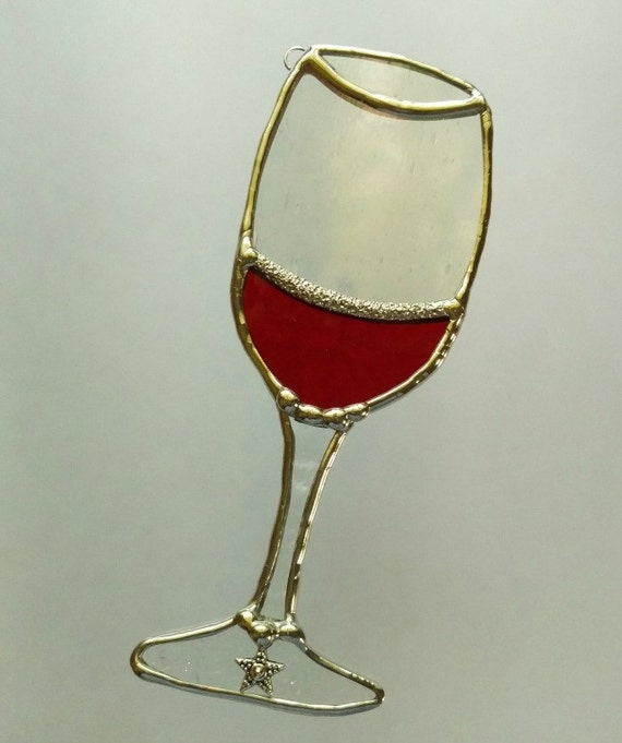 how to clean stained wine glasses