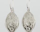 Bud Earrings in Silver