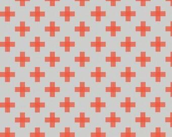 Tribal fabric, Aztec fabric, Boho fabric, Plus fabric, Four Corners fabric by Riley Blake, Plus in Orange, Choose The Cut,
