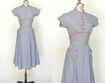 Vintage Deadstock Dress --- 1940s Fruit of the Loom Dress