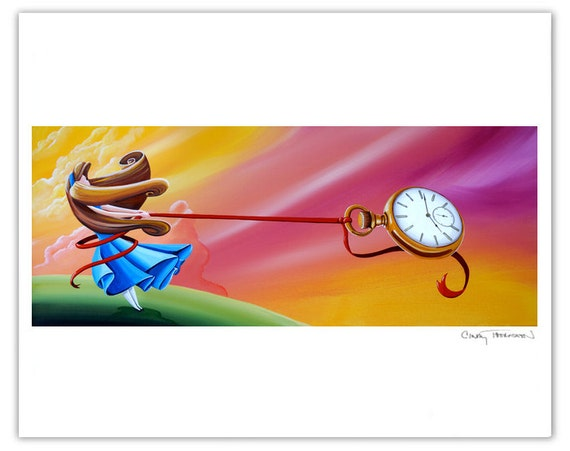 Dreamer Series Limited Edition - Saving Time - Signed 8x10 Semi Gloss Print (3/10)