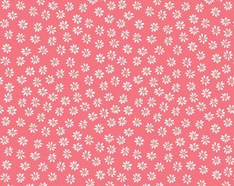 Monaluna Bloom Daisies Organic Cotton Fabric Floral