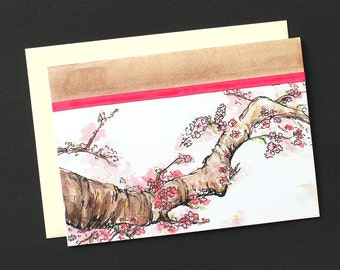 Mother's Day Card: Cherry Blossom