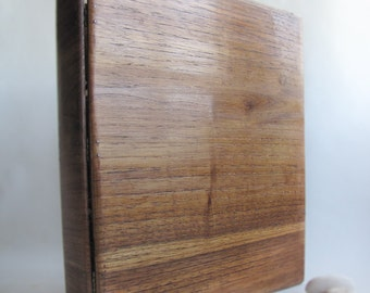 Wooden Binder Unique Portfolio Personalized