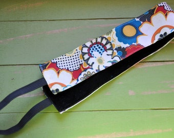 Multi-Color Floral No-Slip Headband