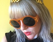 Chain Headpiece // Retro Headband // 60s Style // 1960s Mod // Unique Jewelry // CLUB KID // Vintage Necklace // Handmade Gift