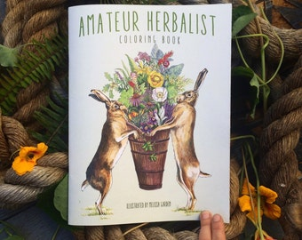 Amateur Herbalist Coloring Book