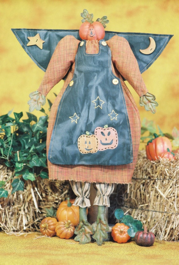 Mailed Cloth Doll Pattern- 20in Autumn Halloween Angel