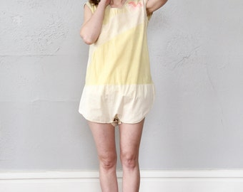 SALE- Antique One Piece Sleepwear.  Nightie