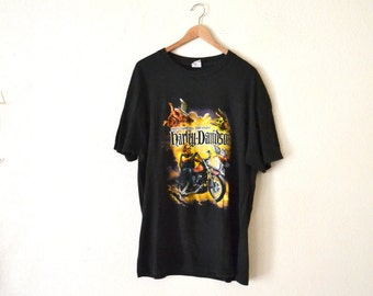 1980's Harley Davidson Graphic T-Shirt