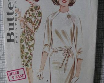 "1960s Shift Dress - 31"" Bust - Butterick 2907 - Vintage Retro Sewing Pattern"