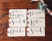 Personalized Name Tags Extra Large for Gift Bags Totes