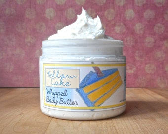 Yellow Cake Whipped Body Butter