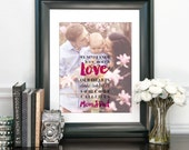 New Parent Gift, Gift for Mom, Dad, Personalized Gift, Custom Photo Art, Christmas Gift, Gift for New Dad, Mom, New Parents // H-Q99-1PS ZZ1