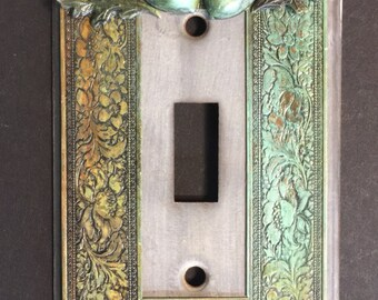 Acorns  switchplate