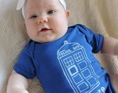 Future Doctor- Doctor Who Baby One Piece Bodysuit