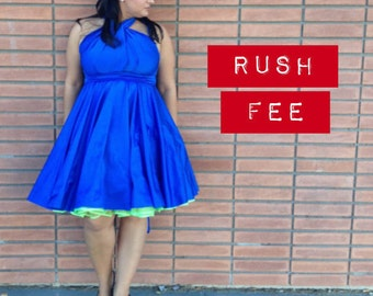 Rush Fee - Contact me first regarding rush items