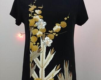 Gold & silver tunic dress