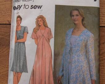 Simplicity pattern 9418  misses dress sz 18-20-22 uncut