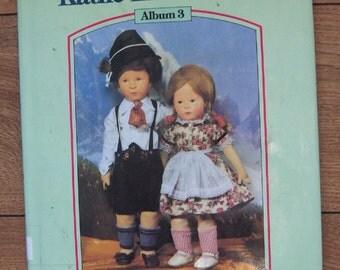 vintage 80s book Treasury of Kathe Kruse Dolls album 3 ex-library
