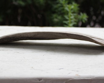 Curved Driftwood Piece for Jewelry Photo Prop, Beach crafts , and coastal home decor