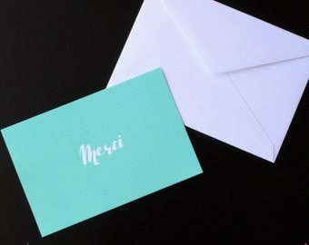 Merci - Thank You Cards - Set of 5