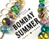 knitting stitch markers pack of 8 - BOMBAY SUMMER