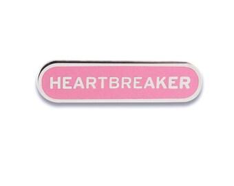 HEARTBREAKER Enamel Lapel Pin